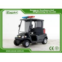 Buy cheap Black 48v 2 Seater Trojan Battery Electric Golf Car With Extinguisher Fire Truck from wholesalers