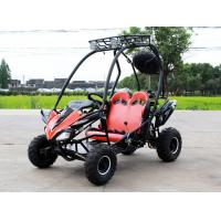 Buy cheap Air cool Fully Auto with reverse CVT(F+N+R),125cc go kart buggy with disc brake from wholesalers