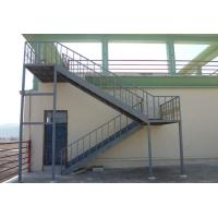 Cheap Prefabricated Structural Steel Stairs Customized Q235 Grade Easy Assembly wholesale