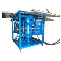 Buy cheap Fully Enclosed Type High Capacity Vacuum Dielectric Oil Purifier Machine from wholesalers