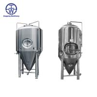 Cheap Durable Stainless Steel Beer Tanks 200L-50000L Temperature Control Insulation Rockwool for sale
