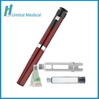 Cheap Refillable Metal Insulin Pen Injector with Travel Case For Diabetes patients for sale