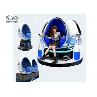 Cheap Electric Motion 9D VR Cinema Egg Shaped VR Motion Chair For Shopping Mall for sale