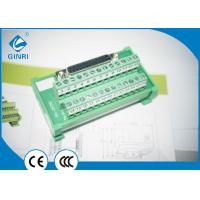 Quality D-Sub Female Terminal Block 16-22 AWG Support Most Of PLC Output Interface wholesale