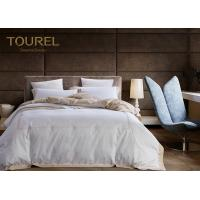 Cheap 100% Cotton Printed Hotel Quality Bed Linen Plain White Duvet Cover for sale