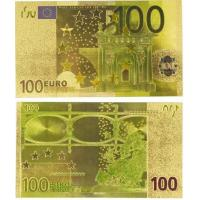 Cheap Foil Banknote Euro 100 World Paper Money Collections for sale