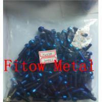 Buy cheap Colorful Bike Titanium Grade 5 Screw Bolts Torx Flange Tapered Head from wholesalers