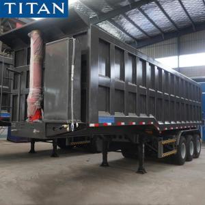 Cheap Dump Truck Trailer - 50T Dump Semi-trailer for Sale in Nigeria for sale