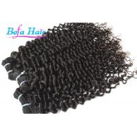 "Cheap Spiral Curl 8"" 13"" Cambodian Hair Bundles , Highlighted Ombre Hair Extensions Weft for sale"
