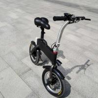 Cheap CE FCC Certification 36v 400w Folding Electric Bicycle , Fold Up Electric Bike wholesale