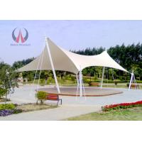 Cheap Strained Membrane Park Shade Structures Outdoor Shade Awnings Knock Down Type wholesale