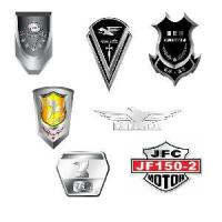 Cheap Chromed 3D Badge & Labels (HXC2043) for sale