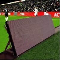 Cheap 6500Nits Pixel Stadium Perimeter Led Display 1R1G1B 10 MM Front Access for sale