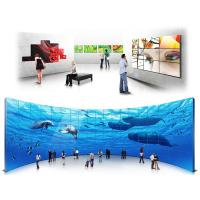 Cheap Supermarket Mall Touch Screen Wall Display , Full HD Digital Signage Lcd Video Display for sale