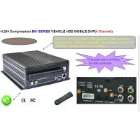 Cheap 4Ch H.264 Real-time Recording Mobile DVR HDD USB Back-up CCTV DVR Security Systems for sale