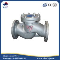 Cheap High Performance PN16 PN25 PN40 Stainless Steel Lift Check Valve for sale