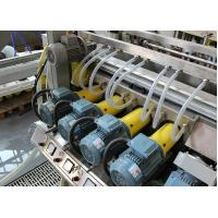 Automatic Glass Grinding Machine , Glass Double Edger For Appliance Glass With 22 Spindles