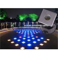 Cheap RGB LED Underground Lights Aluminum Alloy Body Shock Resistant for sale