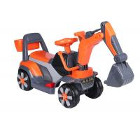 Cheap Professional Childrens Electric Ride On Cars / Sit On Excavator Toy EN71 Approved for sale