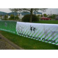 Cheap Eco-Solvent Ink Large Mesh Banners, PVC Mesh Banner With Printable Surface for sale