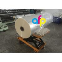 Cheap One Side Corona Treatment Glossy Laminating Film / BOPP Cold Laminating Film for sale