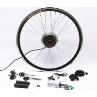 Cheap 7 Speed Rear Wheel Electric Bike Hub Motor Conversion Kit With Batteries for sale