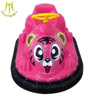Cheap Hansel kids happy rides amusement bumper cars ride battery operated for sale