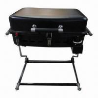 Cheap LP RV Gas BBQ/LP Grill/Propane/Burners Ribs/Outdoor Gas Grill, Lid with Enamel Finished for sale