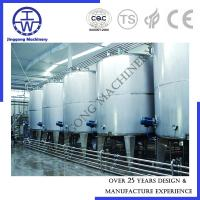 Cheap SIP CIP Cleaning System For Food Beverage Customized Capacity PU Insulation for sale