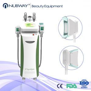 5 handles multifunction Pulse Cryolipolysis Fat Freeze Slimming Machine