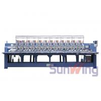Cording / Tapping Mixed Computerized Embroidery Machines For Bedding