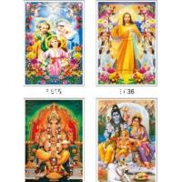 (Z-301100) religious 3d painting