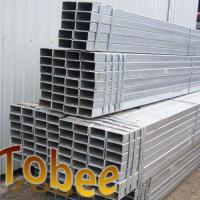 Cheap Rectanguler steel pipe for construction hot dipped galvanized for sale