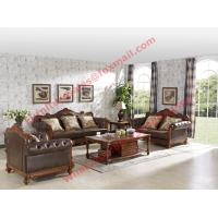 Cheap 1+2+3 Italy Leather Upholstery Sofa Set with Wooden Tv Stand and Storage Cabinet for sale