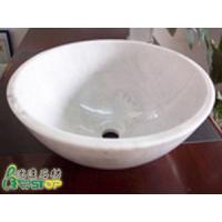 China Guangxi White Granite Stone Sink on sale