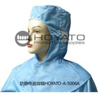 Cheap Germicidal Clean Room Garments Anti Static ESD Shawl Hat With Good Air Tightness for sale
