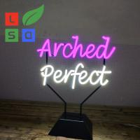 China Desktop Style Indoor Neon Signs Coffee Shop Open Sign With 1 Year Warranty on sale