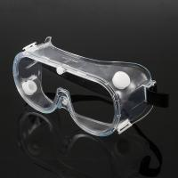 Cheap Chemical Resistant Eye Protection Goggles , Reliable Fog Proof Safety Glasses for sale