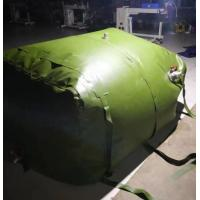 Buy cheap Durable 3m3 Fuel Storage Tanks Folded TPU Coated Inflatable Fuel Tank from wholesalers