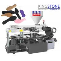 China Kingstone Machinery Rotary 1/2/3 Colors PVC TPR Sole Injection Moulding Machine on sale