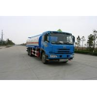 220HP FAW 6x4 22000L (5,811 US Gallon) Oil Tank Truck for Diesel / Gasoline / Petroleum Delivery