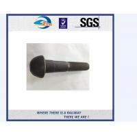 Cheap SGS approved hex railway bolt and nut / forged t bolt rail for railroad for sale