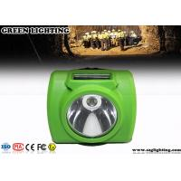 Cheap Anti - Explosion Led Mining Lamp, 13000 Lux Hard Hat Lights With USB Charger for sale
