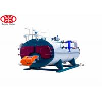 Cheap three pass fire tube wet back Automatic Wns Fire Tube Diesel Oil Natural Gas Steam Boiler for Laundry for sale