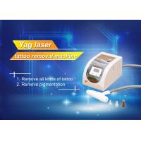 Cheap 1064 / 532nm 110V - 240V Tattoo Removal Machine 1000mJ Energy for sale