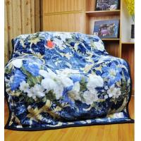 Cheap Blue Single Bed Blankets Warm And Comfortable For Home Or Hotel Use wholesale