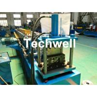 Cheap Round Gutter Roll Forming Machine With PPGI Aluminum Forming Material , 0-15m/min for sale