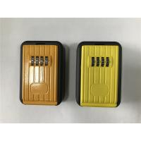 Cheap 4 Digit Combination Lock Boxes For Keys / Outside Key Safe Box for sale