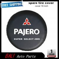 Cheap Free shipping Factory direct sale PVC car spare wheel cover spare tire cover 16 inch for Pajero V73 V77 V93 RF-MI-04 for sale