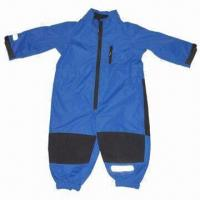 Cheap Children's/baby overall, made of polyester fabric, waterproof and breathability for sale